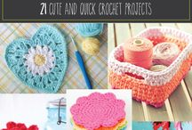 crochet pieces