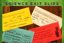 Science - exit slips