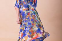 Style Ideas - How to wear a kaftan / Styling outifts for day and night using your kaftan, long or short for any occassion