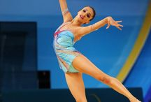 """Rhythmic Gymnastics / """"Hard days are the best because that's when champions are made.""""  Gabby Douglas"""