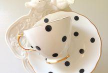 Tea cups/Porcelain