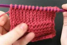 Tunisiam knitting stitch