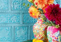 Color File / Ideas and inspiration for using color in your home / by Peggy Pardo