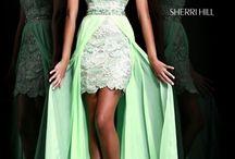 Evening dresses with hi lo / Evening dresses