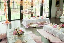 indoor party