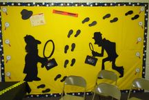 VBS Spy decorating / by Candice Bowman