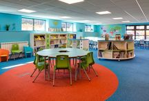 Lidget Green Primary School / Our Project Consultant, Jacquie Smith and designer Jessica Wetherall created this fab library called 'The Sithara' which is Hindi for The Star.  Staff love it, children love it, we love it!