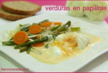 Ensaladas y verduras con Thermomix