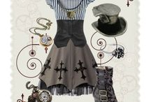 steampunk cleric look
