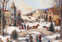 Casas na neve _ winter