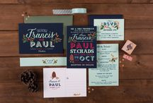 - The Charming Press Wedding Stationery - / Our stationery