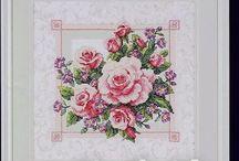 kwiaty-cross stich