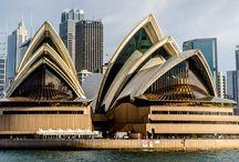 Opera house / In Sydney, Australië.