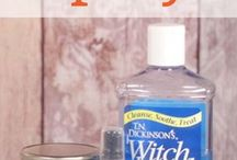 Essential oil for cleaning (thieves)