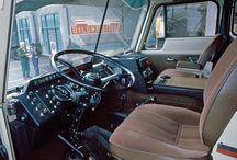 Interiør på hjul og belter