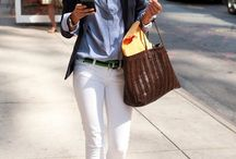 White jeans / Jeans blancos