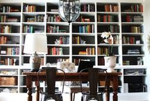 Decorate with Built-Ins / Use built-ins with lighting for added storage and display space.  Decoratively paint or stain.