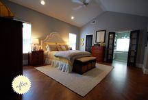 The Master Bedroom / by Rebekah Tennis