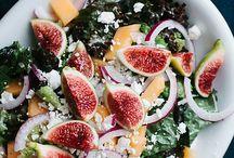 Salad | Salat / I show you how versatile salads can be.  Ich zeige euch wie vielseitig Salate sein können.