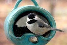 K 012 Keramik Vogelhäuser