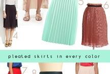 Pleated fashion inspiration