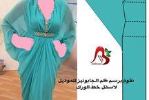 abaya patterns