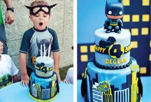 Super Heroes Cakes