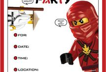 Coey's 8⃣th :) / Coey wants a Lego Ninjago Party!  / by кєѕнια ℓαωαιиє gυуℓℓ