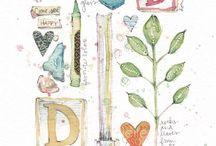 Art Watercolors Danielle Donaldson