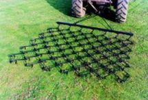 Chain harrow, field harrow, atv chain harrow, tractor chain harrows, paddock harrows / Chain Harrows for quad bikes, compact tractors and utility vehicles. Chain harrowing will de-thatch dead grass, breakdown moss, chickweed and mole hills. For more info: http://www.fresh-group.com/chain-harrows.html