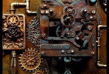 Altered art steampunk