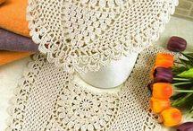 Tapetes  caminhos croche