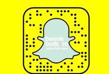 Snapchat! / Say hello.. beeniebudsandco