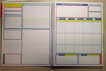Planners Template Inspiration / Inspiration by planners seen on the web