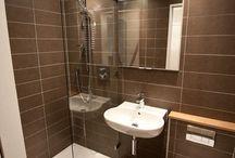 Kleine badkamer B&B