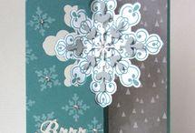 Stampin' Up!  Snowflake Card Thinlits Set