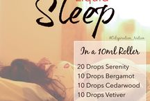 Doterra Oils / Favorite diffuser and roller ball recipes