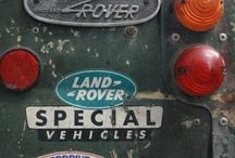 LAND ROVERS..