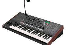 Synthesizers and other musical equipment I own / My ever expanding electonic music collection. Started with a Korg M500-SP back in 1982 and was hooked.