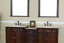 Make Your Vanity the Center of Attention - Bellaterra Home / Bellaterra Home vanities are constructed of durable solid wood and are available in so many styles, you're sure to find your perfect match. / by eFaucets.com