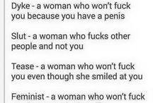 Why feminism exists