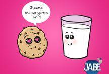 Dulce humor / En #Jabe te compartimos nuestros mejores memes. #postres