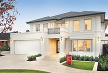 Дома простые фасады