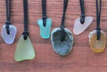 Recovery Glass / Sea glass is made when glass is discarded in the ocean, and broken and smoothed by tumbling against rocks and sand. There are times in our lives when we feel like we have been discarded and healing is out of reach but recovery is possible.