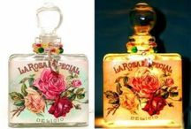 Twinkling Perfume Bottle Night Lights