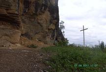 Santuário em Gruta - Itaberaba - Bahia / Santuário localizado próximo a cidade de Itaberaba, está localizado em uma gruta.