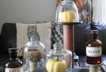 DECOR | fall / Fall decor and decorations, styling for the fall season in the home and garden.