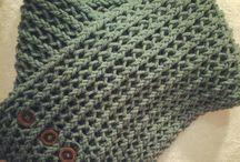 Ideas para tejer: Punto&Crochet / Un poco de todo, gorros, turbantes, elementos decorativos para casa, etc.