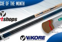 2016 Viking SmartShops Cue of the Month / Viking SmartShops Cues of the Month are limited edition cues that are available at authorized Viking SmartShops dealers. Receive an Instant In-Store Rebate of $50 - $100 when you purchase these exclusive cues.