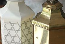 Maling DIY diverse lamper